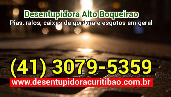 Desentupidora Alto Boqueirao