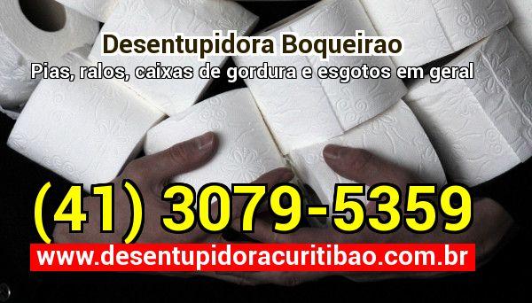 Desentupidora Boqueirao