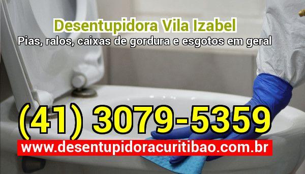 Desentupidora Vila Izabel