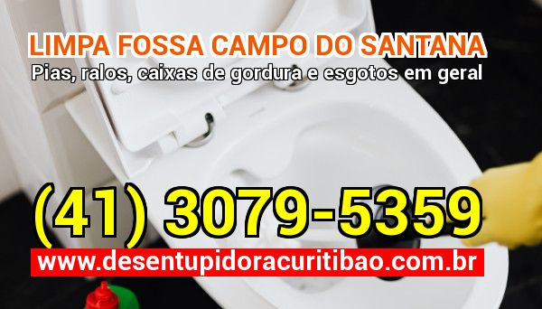 Limpa Fossa Campo Do Santana