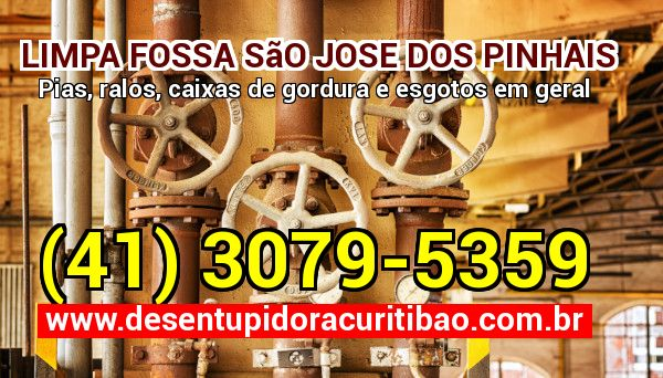 Limpa Fossa São Jose Dos Pinhais