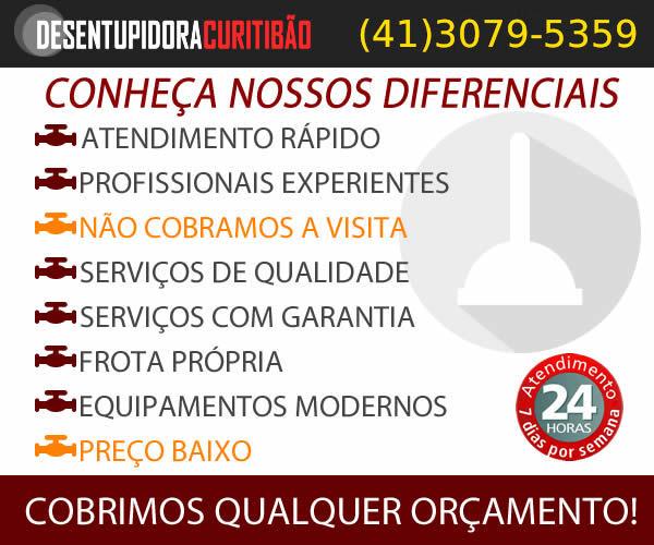 Conheça os Diferenciais da Desentupidora Curitiba